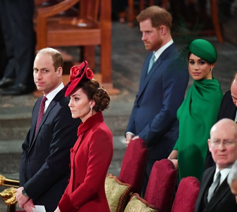 Prince William Kate Middleton Harry Meghan Markle Photo