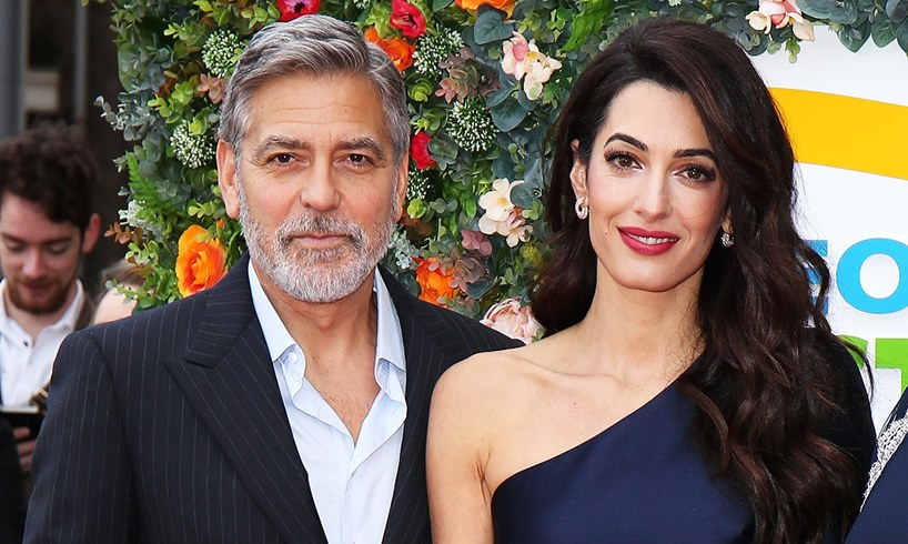 George Clooney ER Reunion Stream Wife Amal Photos