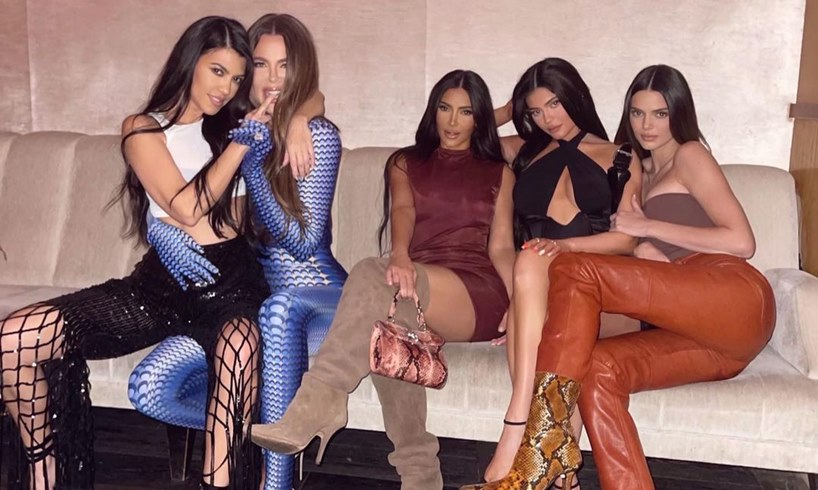 Kourtney Khloe Kim Kardashian Kylie Kendall Jenner Birthday Photo