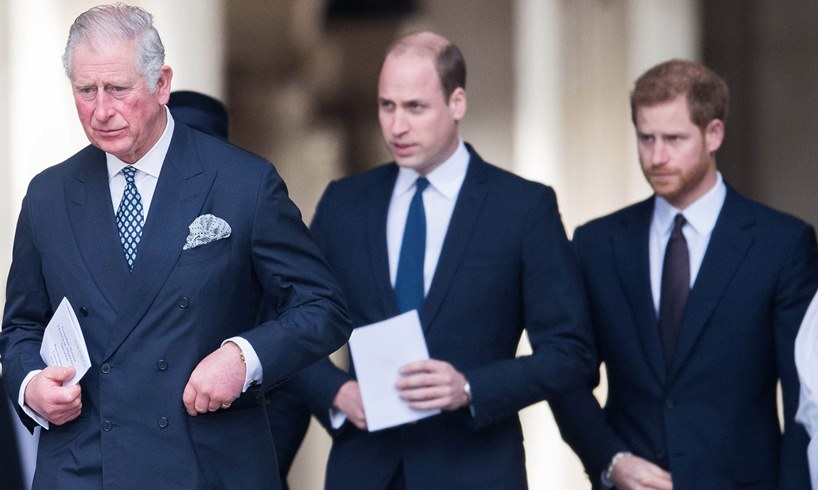Prince Charles William Harry Philip Funeral Peace Video/