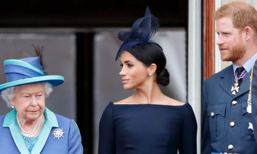 Queen Elizabeth Prince Harry Meghan Markle Royal Titles