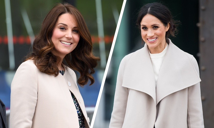 Kate Middleton Meghan Markle Prince Harry William Queen Elizabeth New Baby