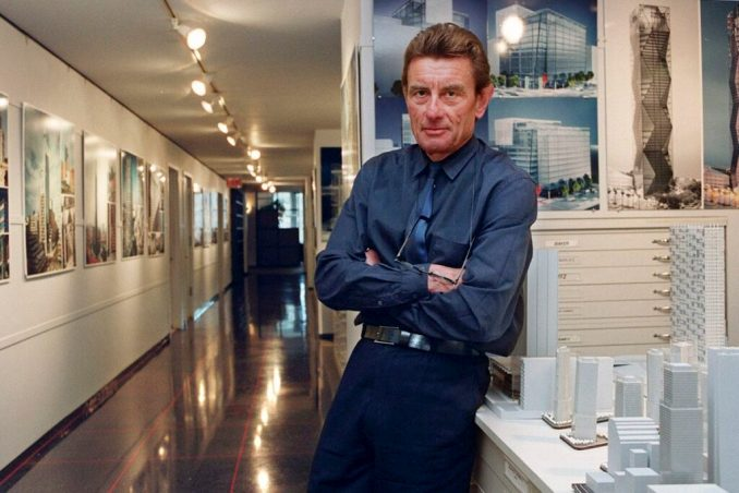 German-American architect Helmut Jahn's cause of death was confirmed as a fatal accident.
