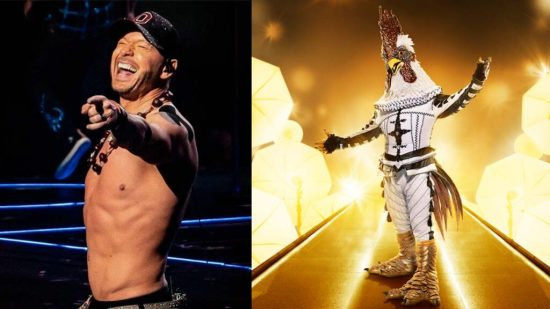 The masked singer Cluedle Doo is revealed as Donnie Wahlberg