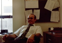 Dave Looney in office