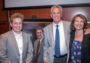 Taken at Portrait unveiling for U.S. Magistrate Judge Paul Papak May 13, 2019