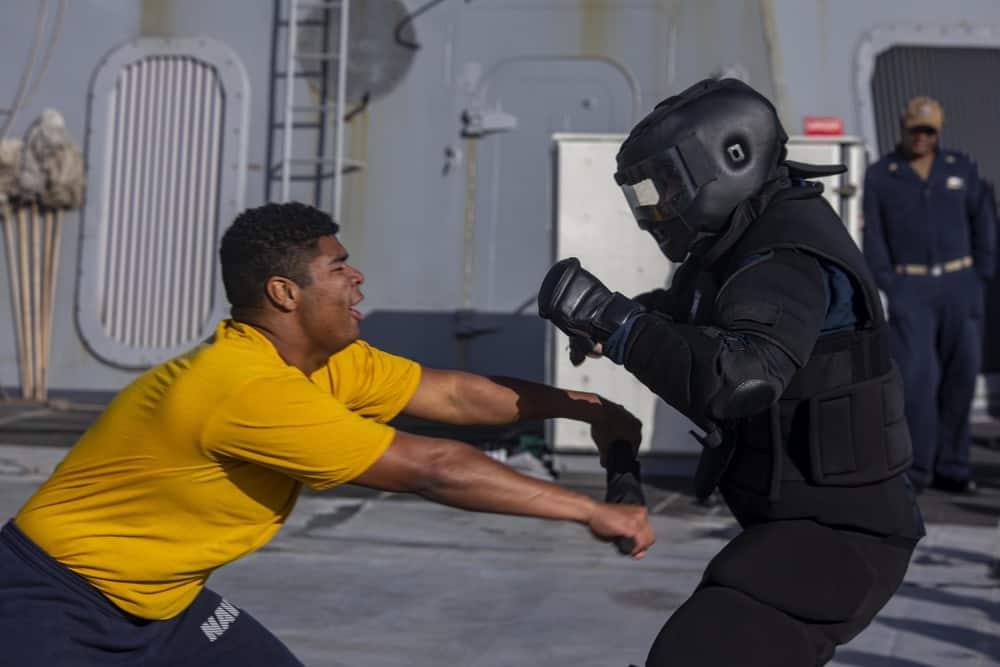 Security Reaction Force-Basic (SRF-B) course aboard the USS New York (LPD 21) - US Defense Story