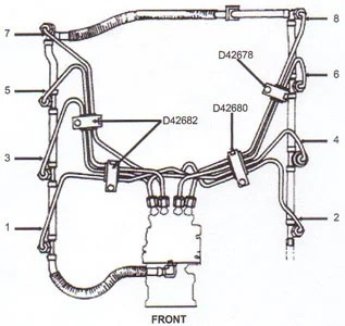 2015 Ford F 250 Super Duty Wiring Diagrams 5 High Pressure Fuel Injection Line Ford 6 9l 7 3l