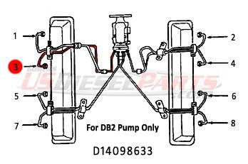 Dt466 Fuel Pump From Bosch, Dt466, Free Engine Image For