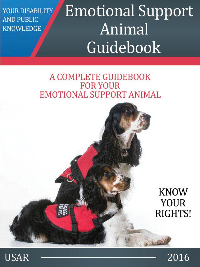 Emotional Support Animal Guidebook Ebook  US Dog Registry