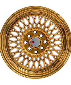 F1R wheels F01 Gold Chrome
