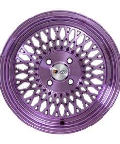 F1R wheels F01 Machined Purple