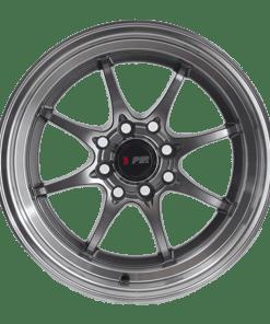 F1R wheels F03 Machined Gunmetal