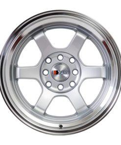 F1R wheels F05 Silver Polished Lip