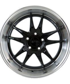 F1R wheels F102 Gloss Black Polish Lip