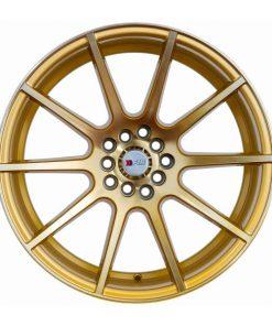 F1R wheels F17 Machined Gold