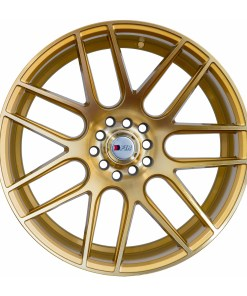 F1R wheels F18 Machined Gold