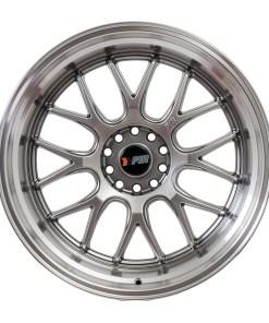 F1R wheels F21 Hyper Black Polished Lip