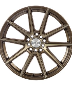 F1R wheels F27 Machined Bronze