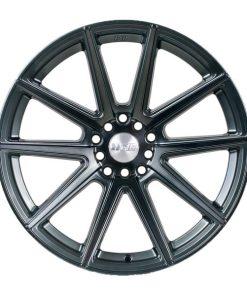 F1R wheels F27 Machined Gunmetal