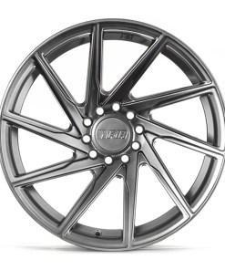 F1R wheels F29 Hyper Black Polished Lip