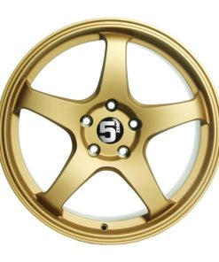 5zero wheels Z18 Rally Gold