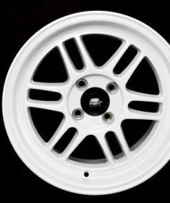 MST wheels Suzuka Gloss White