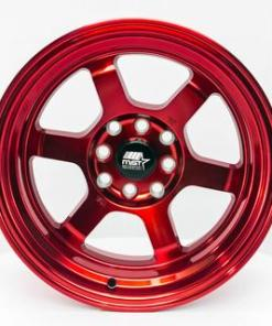 MST wheels Time Attack Ruby Red