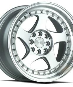 AH01 AH01 17X9 4X100/114.3 Silver Machined