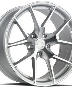 AFF7 AFF7 20X10.5 5X112 Gloss Silver Machined Face