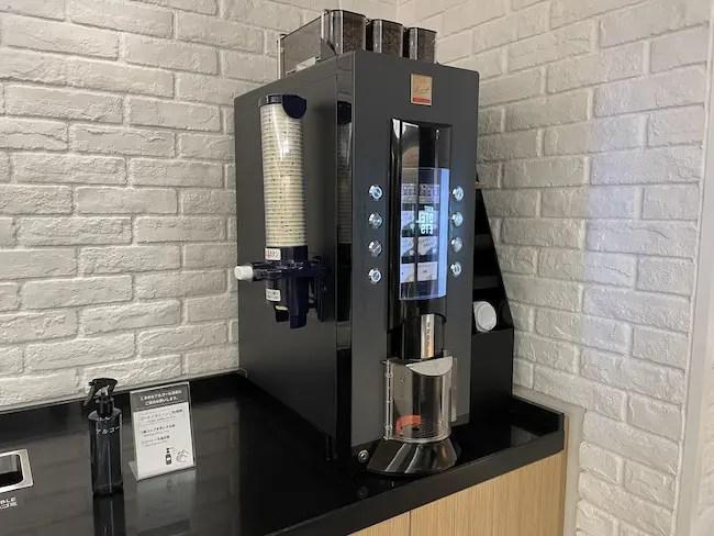 STATION WORK ホテルメッツ横浜・コーヒーマシン
