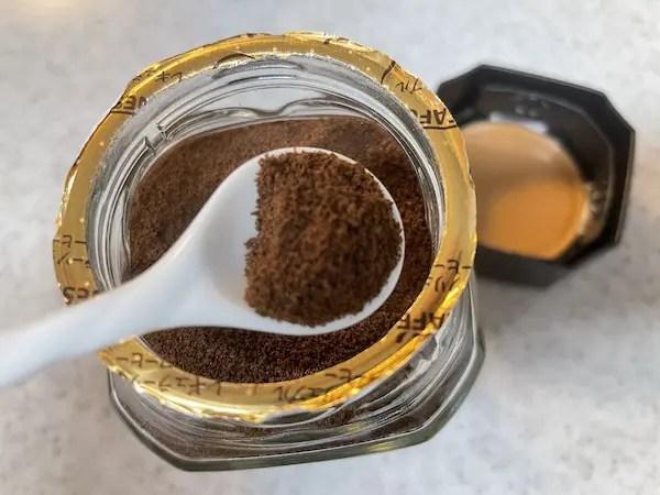 スプレードライのインスタントコーヒー