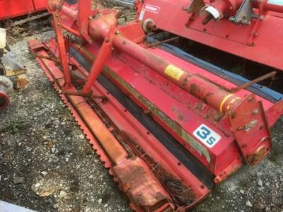 Niplo HARROW HR2800B used compact tractor attachment  KHS japan