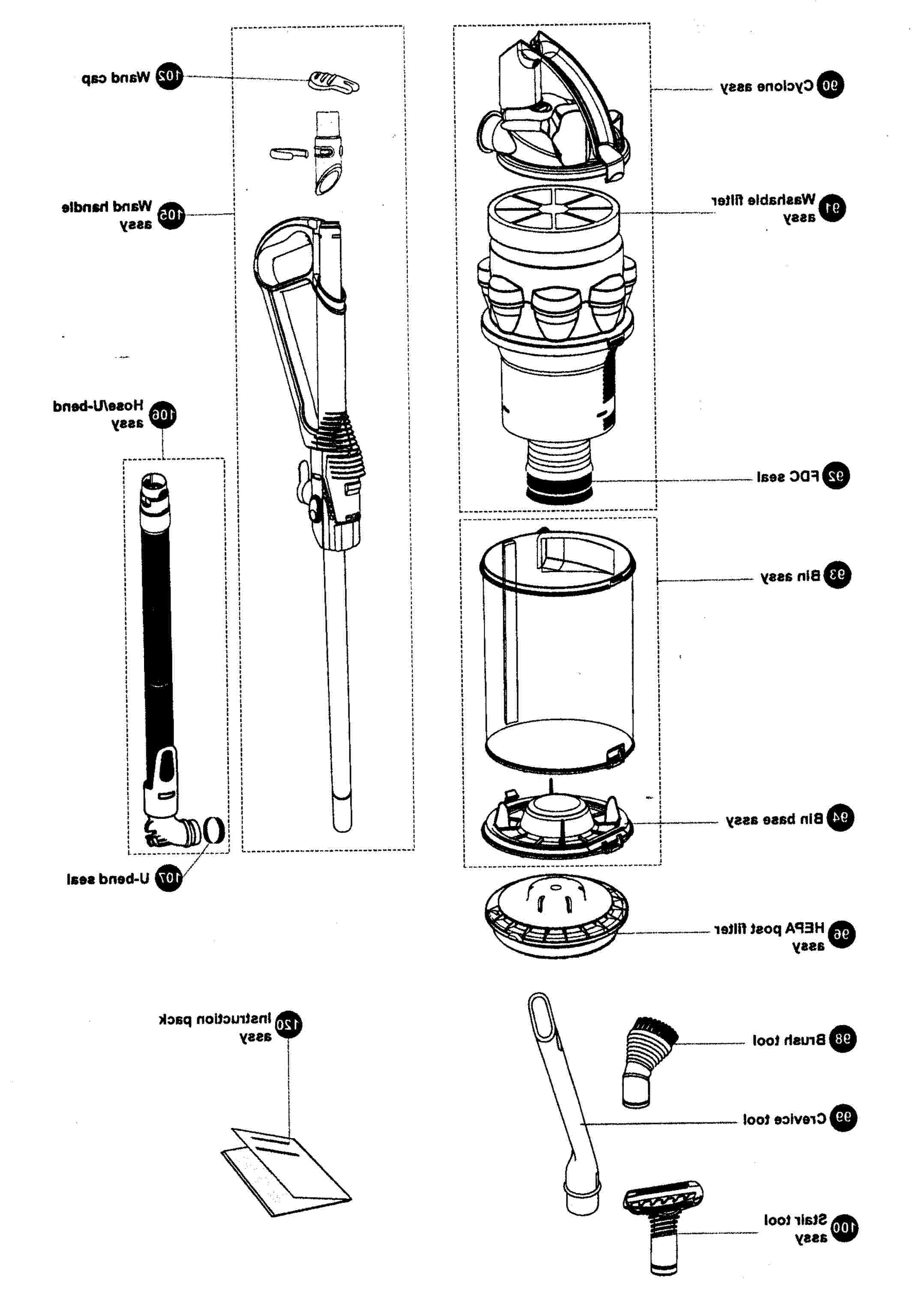 Wiring Database 2020: 30 Dyson Dc07 Parts Diagram
