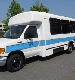 2003 ford e 450 wheelchair shuttle bus [ 1024 x 768 Pixel ]