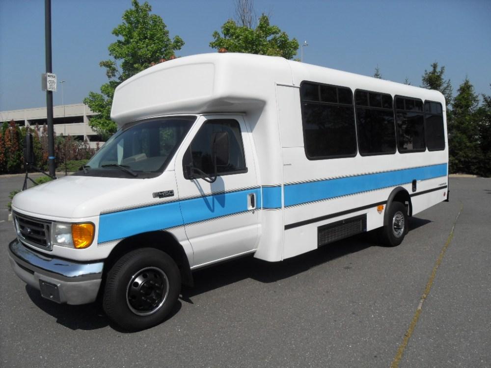 medium resolution of 2003 ford e 450 wheelchair shuttle bus