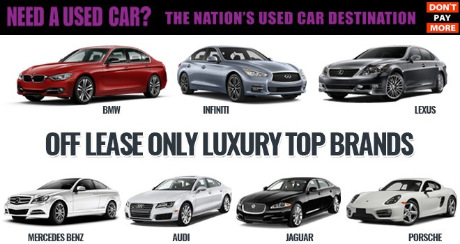 Luxury Used Cars For Less Offleaseonly Top Brands