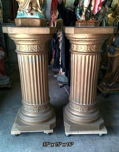 Statues done Chalices next  Used Church Items