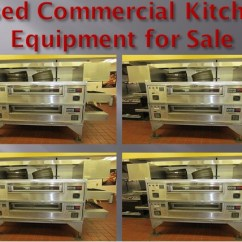 Kitchen Equipment For Sale Prep Tables Used Restaurant Commercial