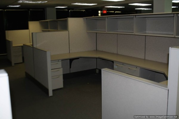 Used Herman Miller SQA Cubicles 6x6 Typical St. Louis Missouri5