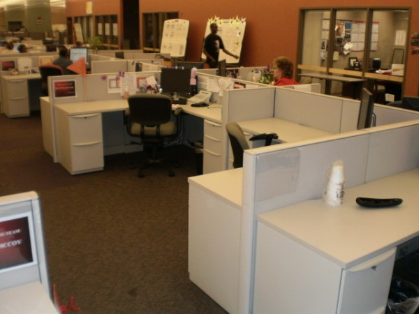 Used Haworth Premise 6x6 workstations1