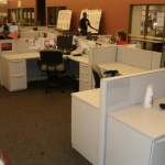 Used Haworth Premise 6×6 workstations1