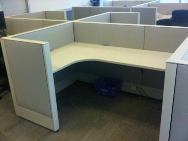 Used Haworth Enhanced Premise 6x8 Cubicles2