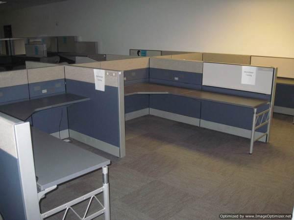 Used Herman Miller Ethospace 6x8 Workstations3