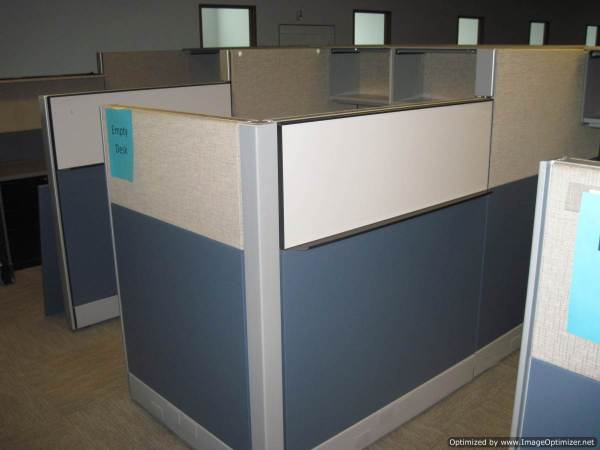 Used Herman Miller Ethospace 6x8 Workstations6