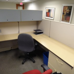 Used Herman Miller Q Workstations 6x6 and 6x82