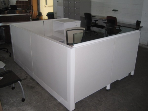 Used Knoll Morrison 6x6 and 6x8 Cubicles3
