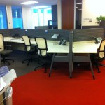 Pre owned Haworth Premise Benching Systems2