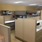 Used Knoll Morrison Cubicles 8×6 HighLow Stations1
