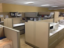 Used Knoll Morrison Cubicles 8x6 HighLow Stations1
